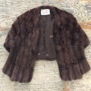 Vintage mink shall